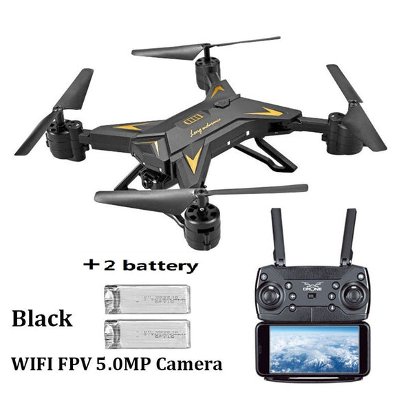 Foldable WIFI FPV RC Quadcopter Selfie Drone with 1080P 5.0MP Camera