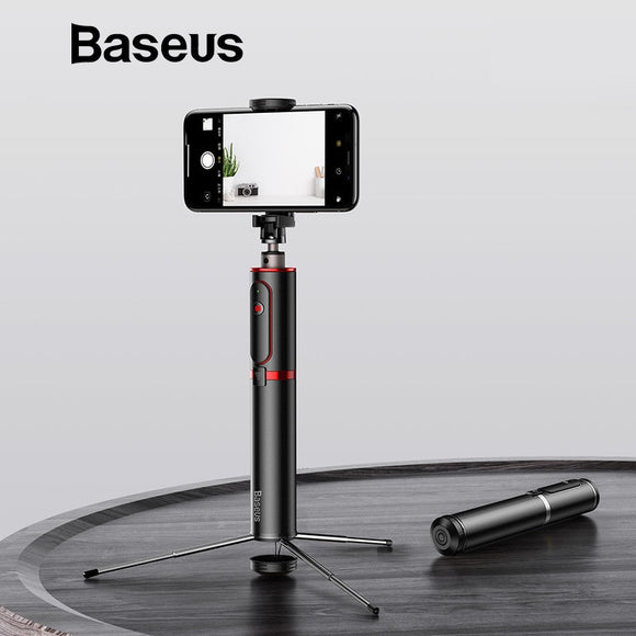 Baseus Portable Camera Tripod Selfie Stick with Wireless Remote For IOS and Android Devices
