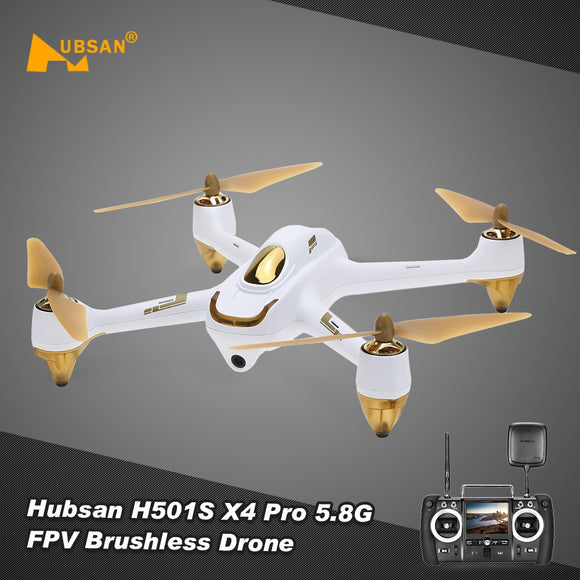 Hubsan H501S Pro Brushless Quadcopter Drone with 1080P Camera