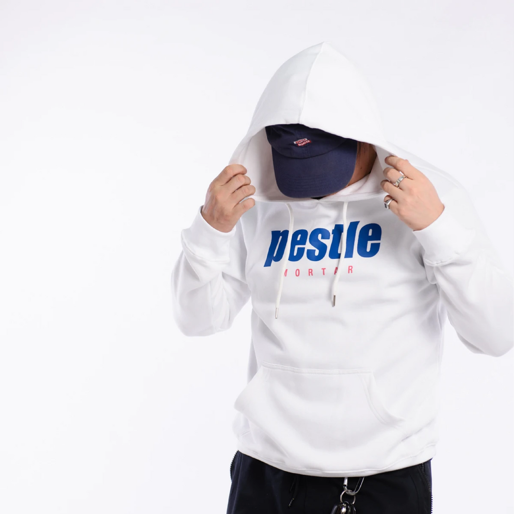 PMC Grand Slam Logo Hoodie White