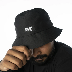 PMC Strike Logo Bucket Hat Black