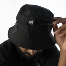Load image into Gallery viewer, PMC Strike Logo Bucket Hat Black