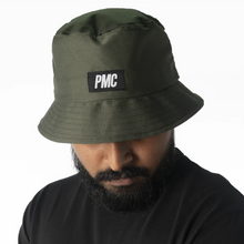 Load image into Gallery viewer, PMC Strike Logo Bucket Hat Green