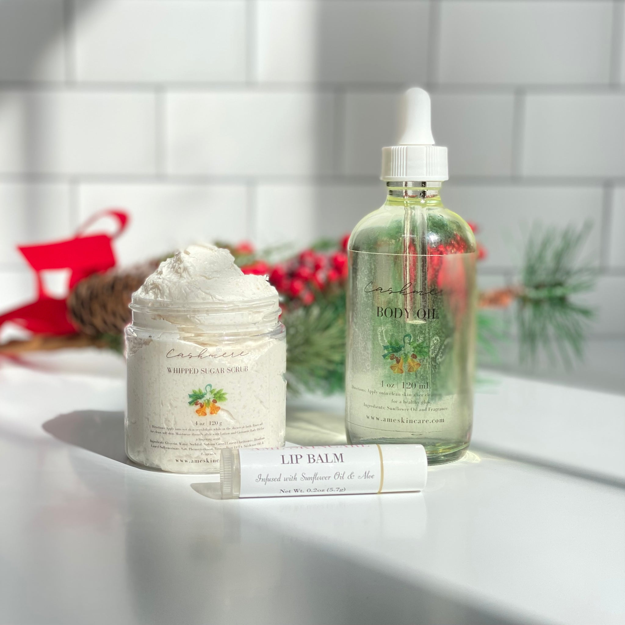 The Cashmere Holiday Bundle Body Care Set - Limited Edition