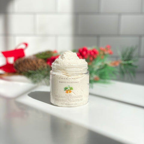 Cashmere Whipped Sugar Soap Scrub - Limited Edition