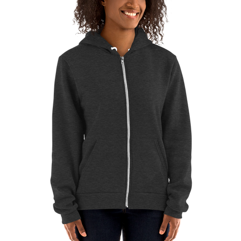 ZIPPERED UNISEX HOODIES