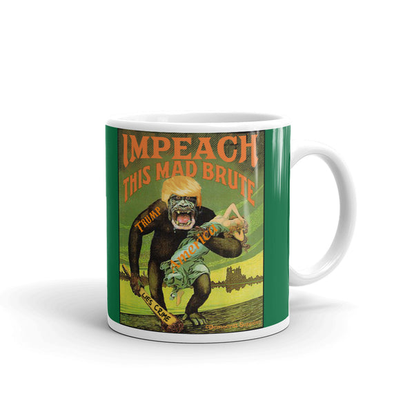 Impeach This Mad Brute Anti-Trump Coffee Mug