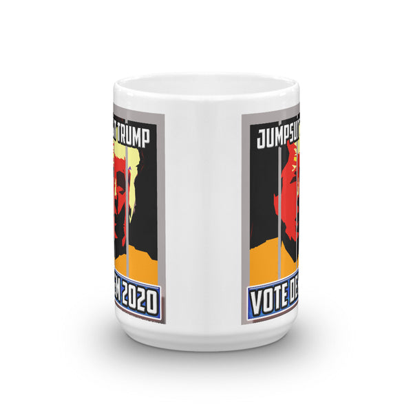 Jumpsuit Trump - Vote Dem 2020 Anti-Trump Coffee Mug