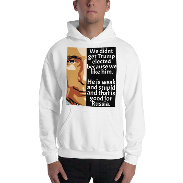 We Didn't Get Trump Elected Because We Like Him Anti-Trump Unisex Hoodie