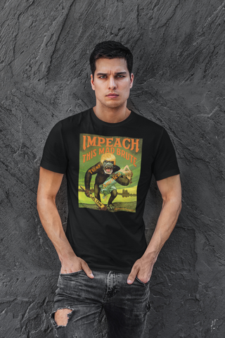Impeach This Mad Brute Trump Short-Sleeve Unisex T-Shirt