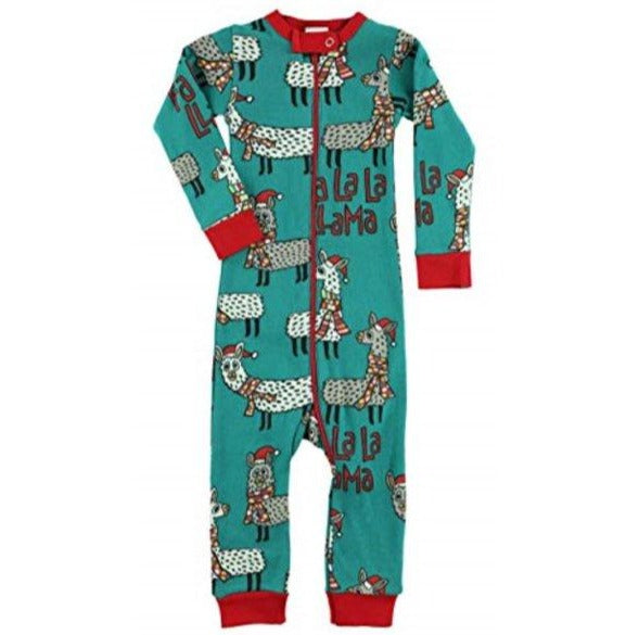 Lazy One Llama Infant Union Suit