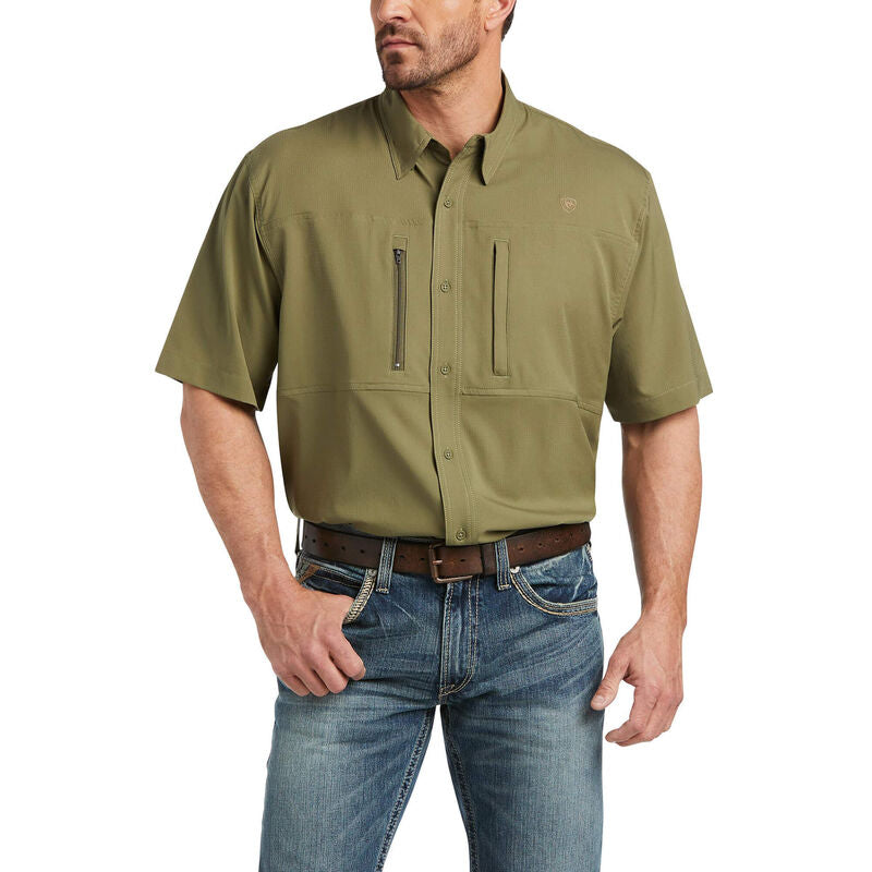 VentTEK Classic Fit Shirt-BURNT OLIVE