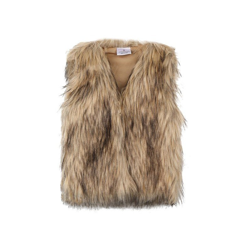 Goldie Girly Fur Vest