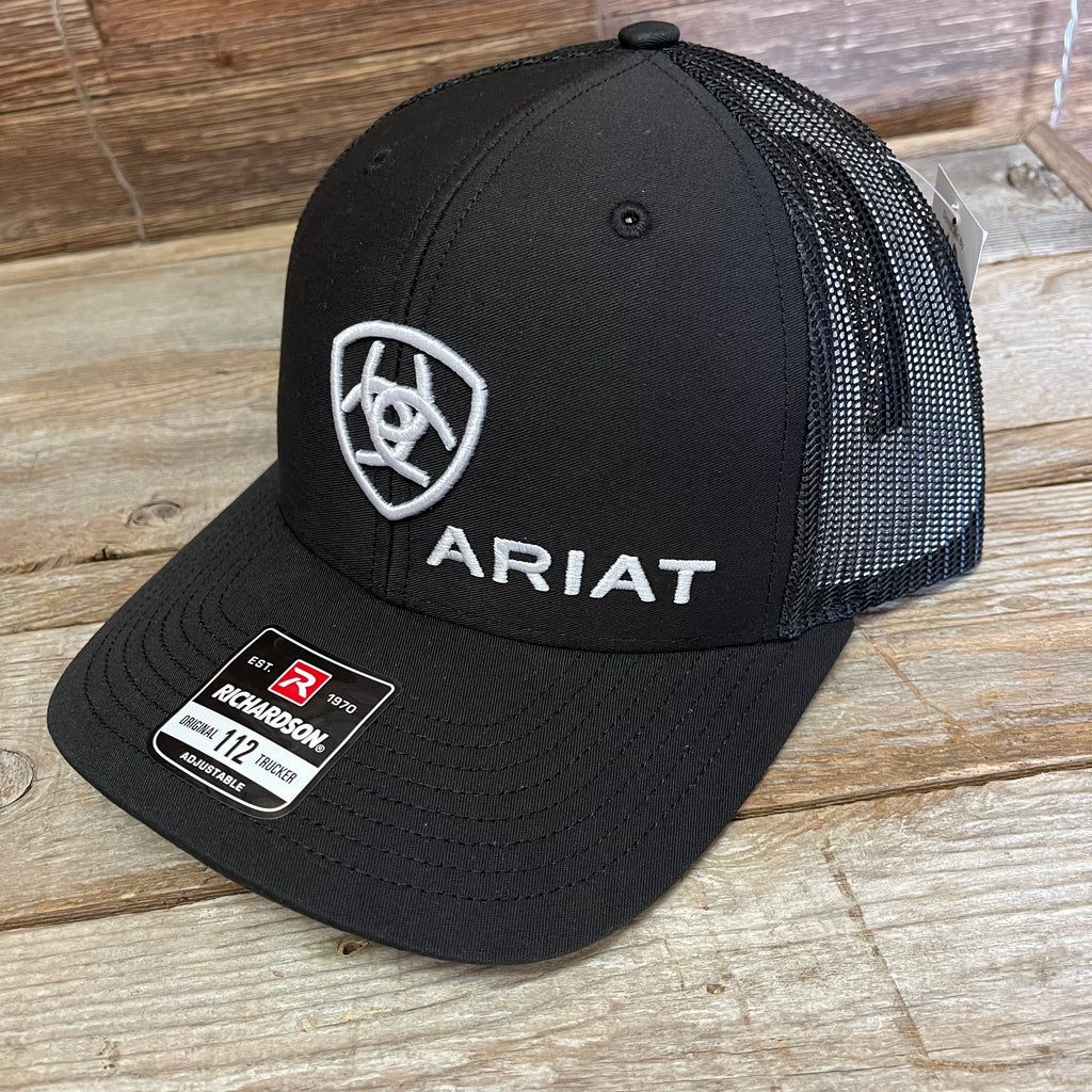 Ariat Men's Black Logo Cap A300003001