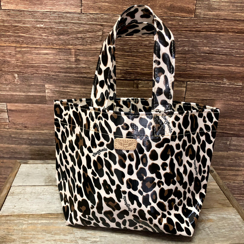 Mona Brown Leopard Mini Grab N Go Bag