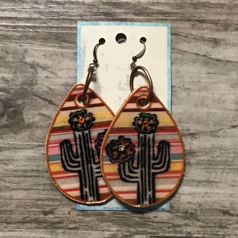 Fiesta Cactus Earrings