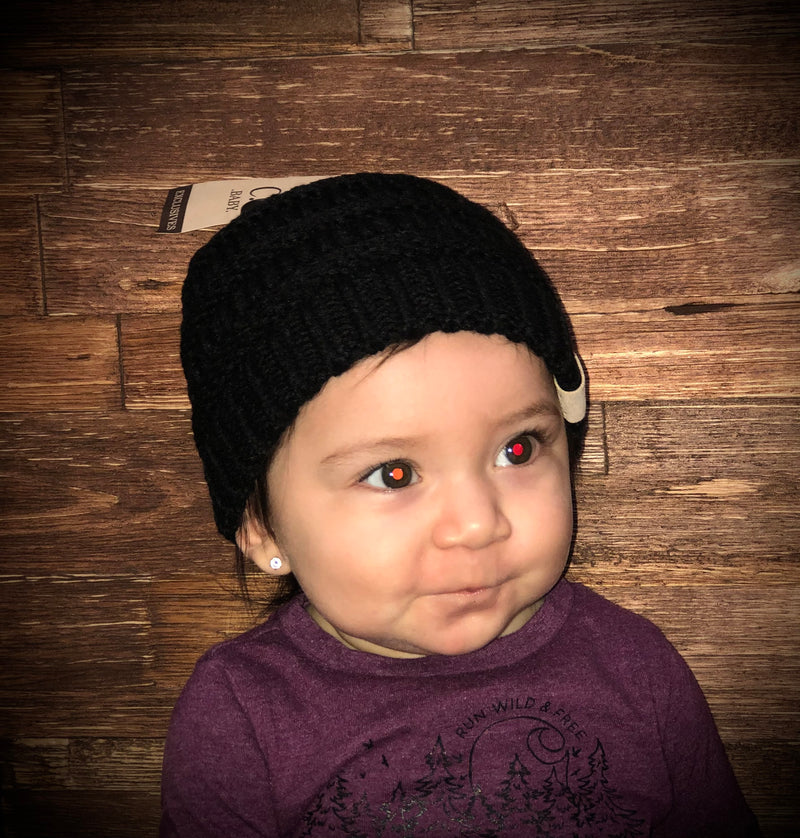 C.C Baby Solid Color Beanie