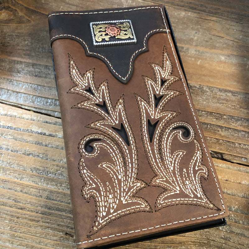 N5490944 Rodeo Boot Stitch Wallet