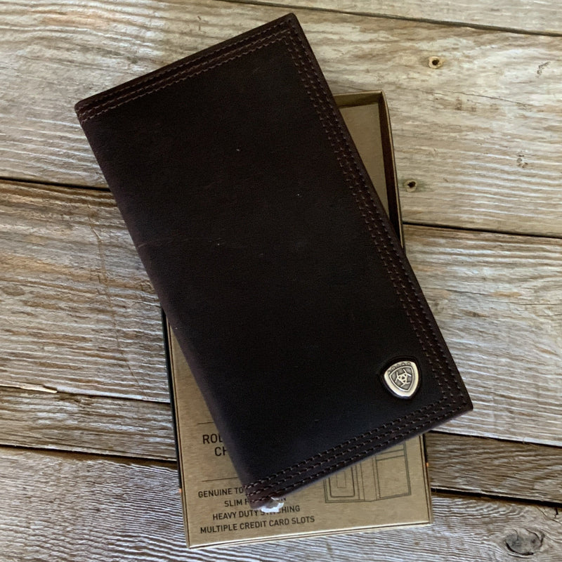 A35118283 Rodeo Dark Leather Wallet