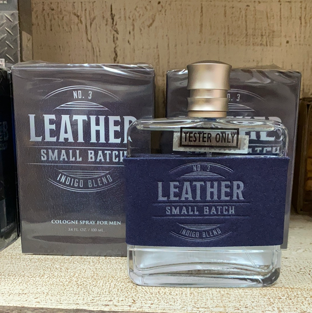 Leather Small Batch Indigo Batch