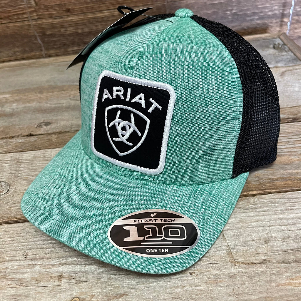 Ariat Men's Mint Cap with Large Patch Logo A300014828