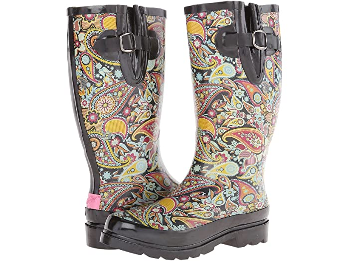 Stylish Pull-on Rain Boot