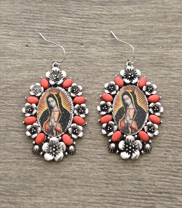 Lady of Guadalupe Earrings