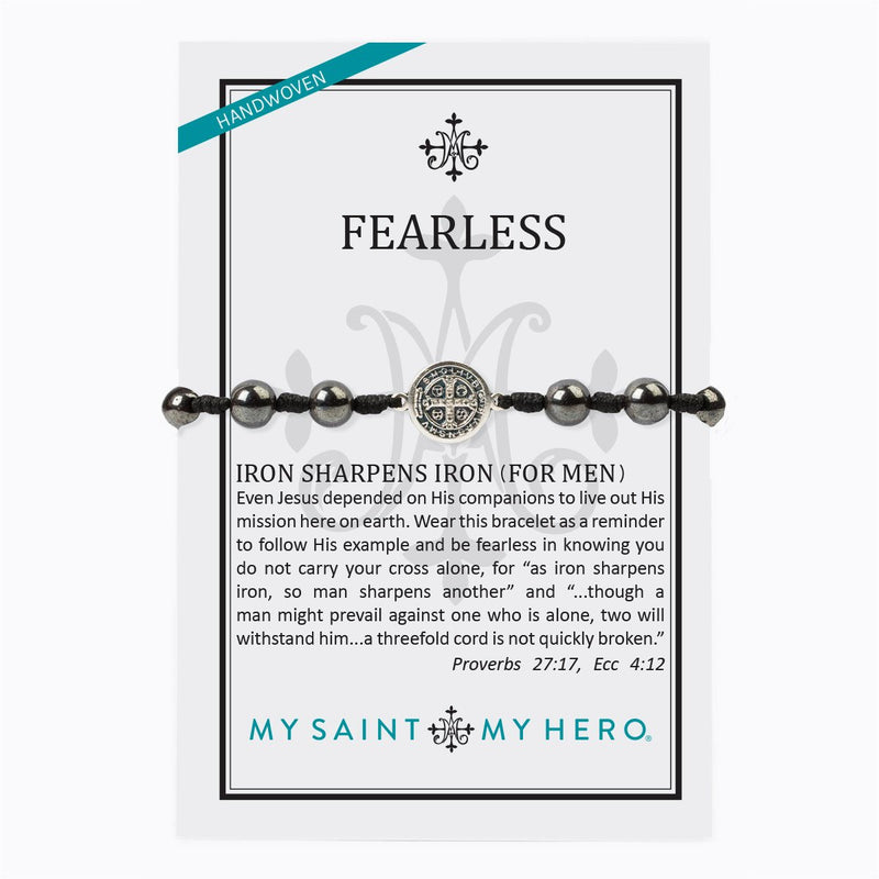 Fearless Iron Sharpens Iron Blessing Bracelet
