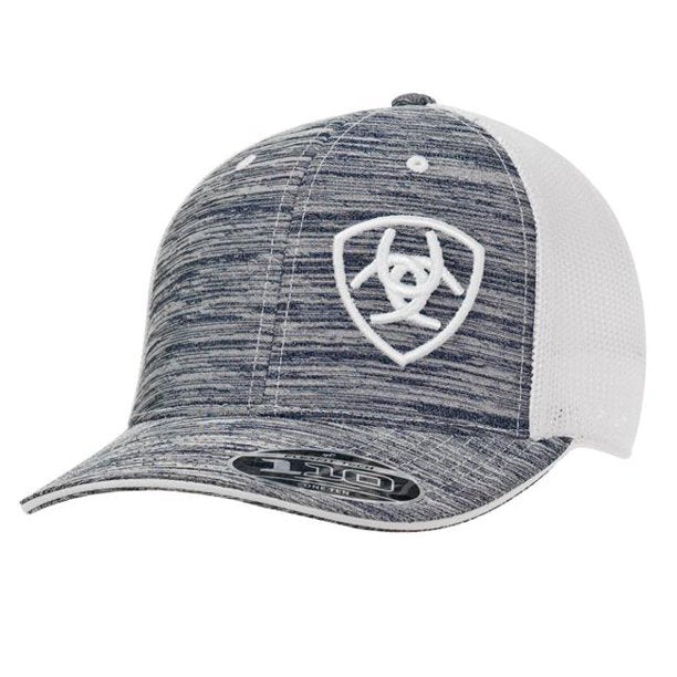 Grey and white Ariat Men's  Cap 1504905