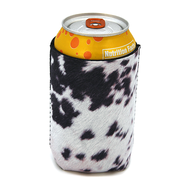 Cow Print Drink Sleeve