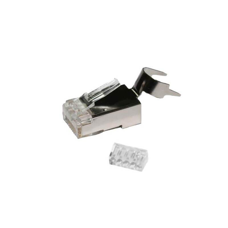 cat7a modular rj45 plug for cat7a cmr and plenum cable