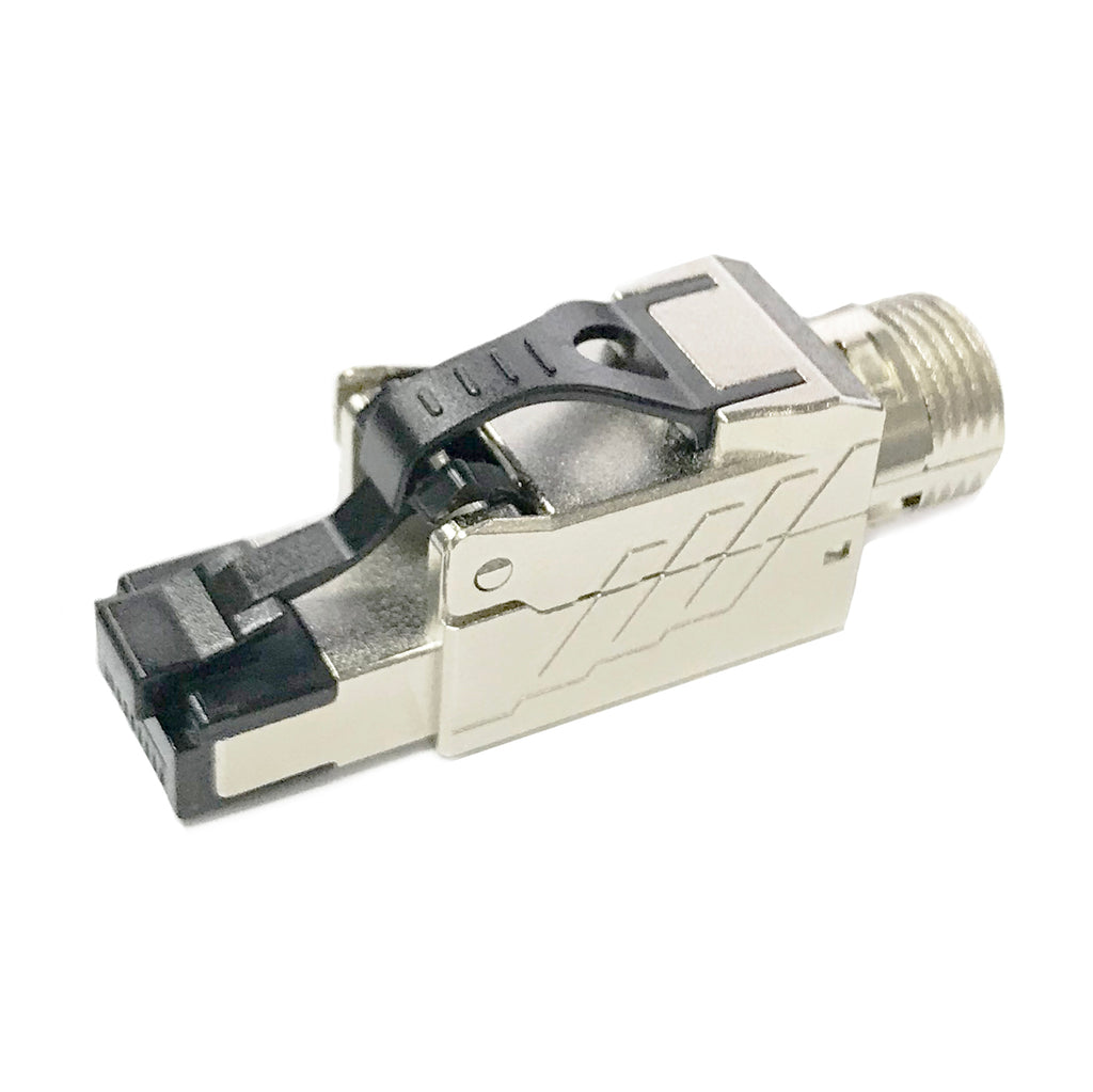 CAT8 and CAT7A RJ45 Field Termination Plug