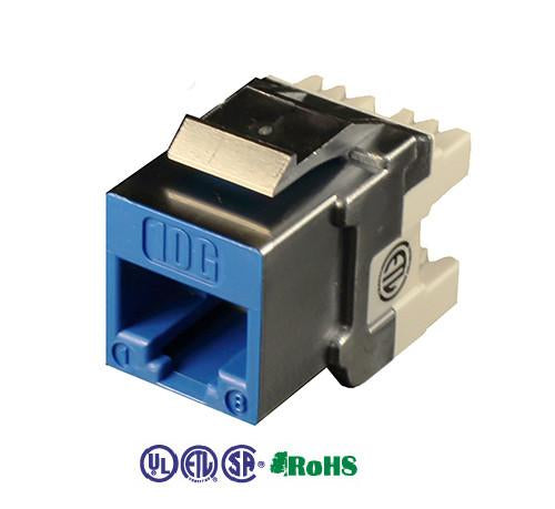 cat6a unshielded keystone jack 180 degree