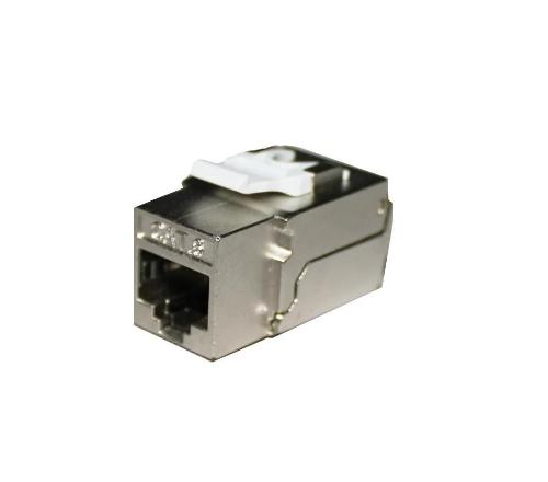 cat6 90 degree shielded keystone jack KJ-E8S-C6AB