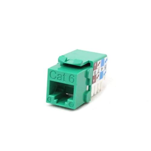 cat6 keystone jack unshielded for riser cable