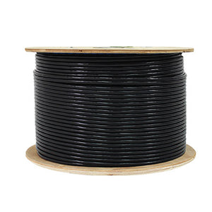 Cat6E Outdoor Rated (CMX) 23AWG, Unshielded Twisted Pairs (UTP) 1000ft. Bulk Copper Cable