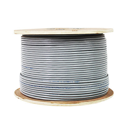 CAT6A Shielded, U/FTP, Ultra Slim Stranded CM, 28AWG, 1000FT, Multiple Colors