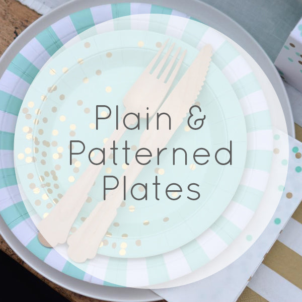 Plain & Patterned Plates