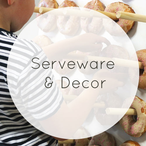 Serveware & Decor Hire Wellington