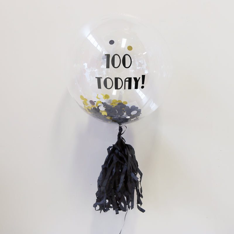 Personalised 100th Birthday Balloon | Custom Balloons Wellington