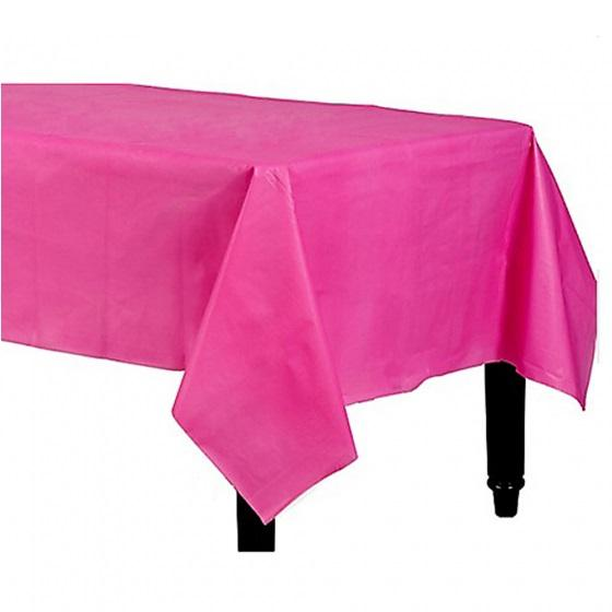 Bright Pink Tablecloth