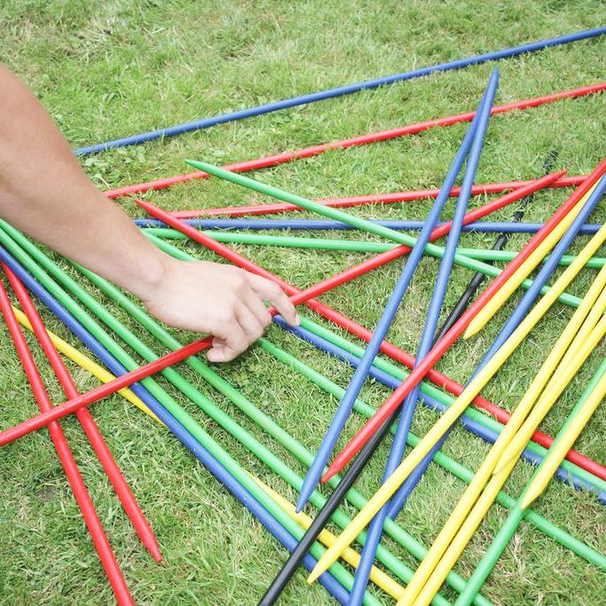 Giant Pick Up Sticks Game Hire