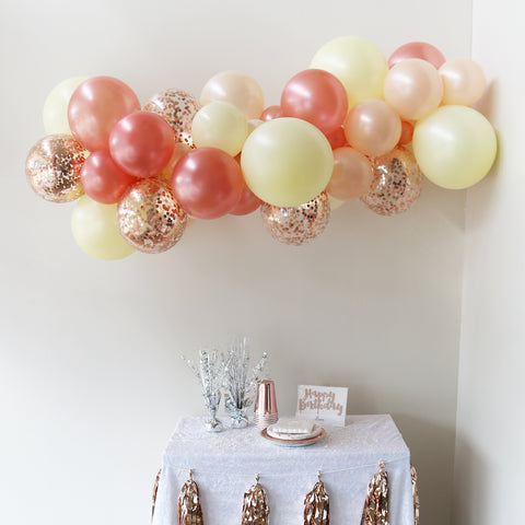 Pastel Balloon Garland