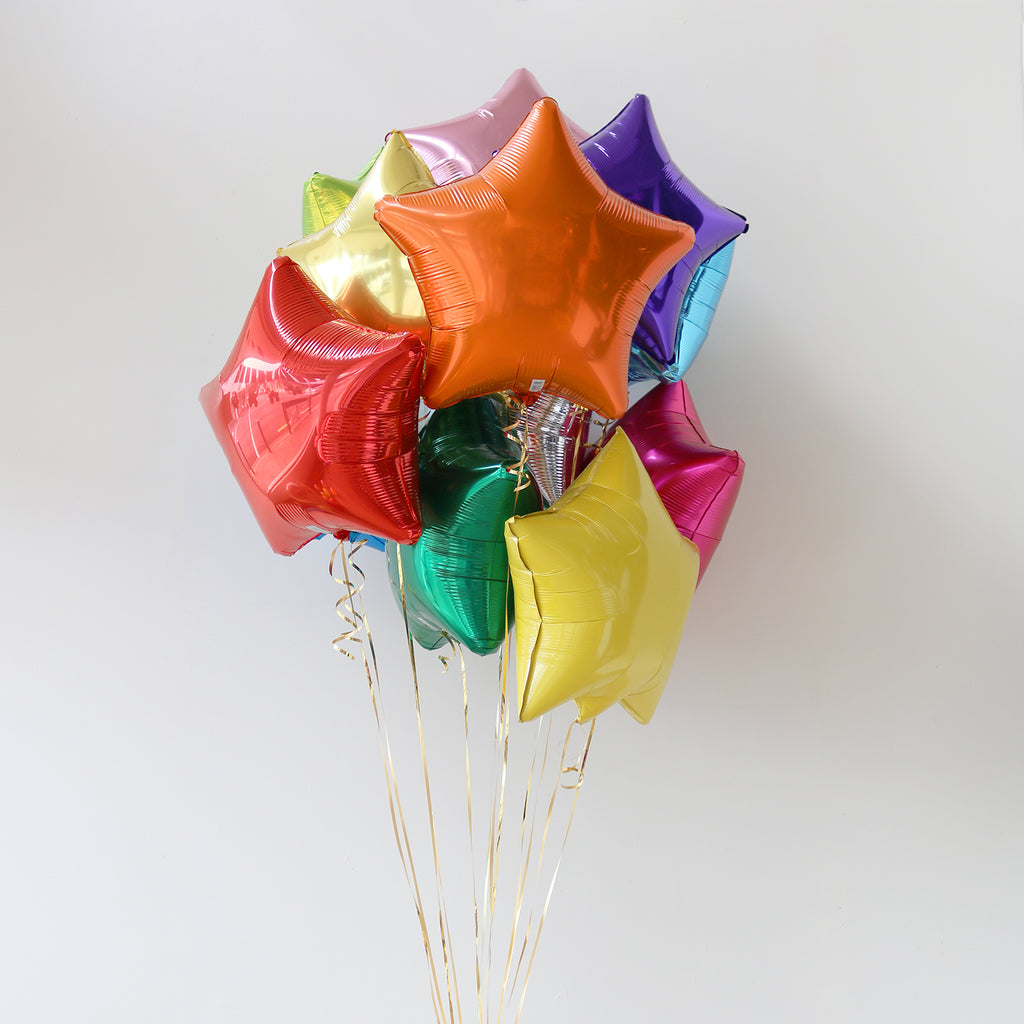Rainbow Star Foil Bouquet