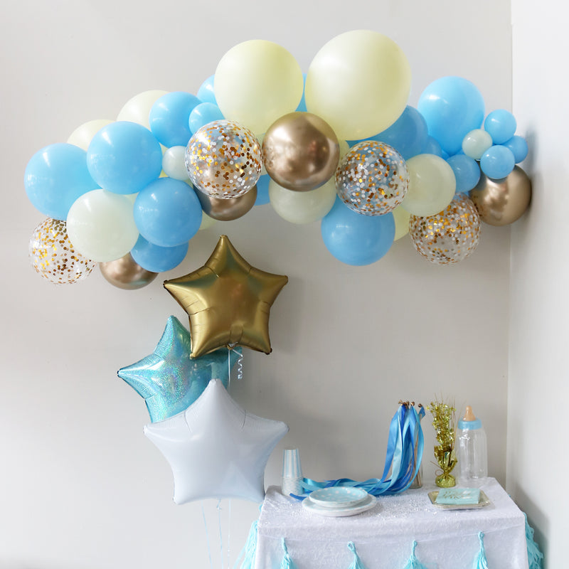 Baby Blue Balloon Garland WELLINGTON ONLY