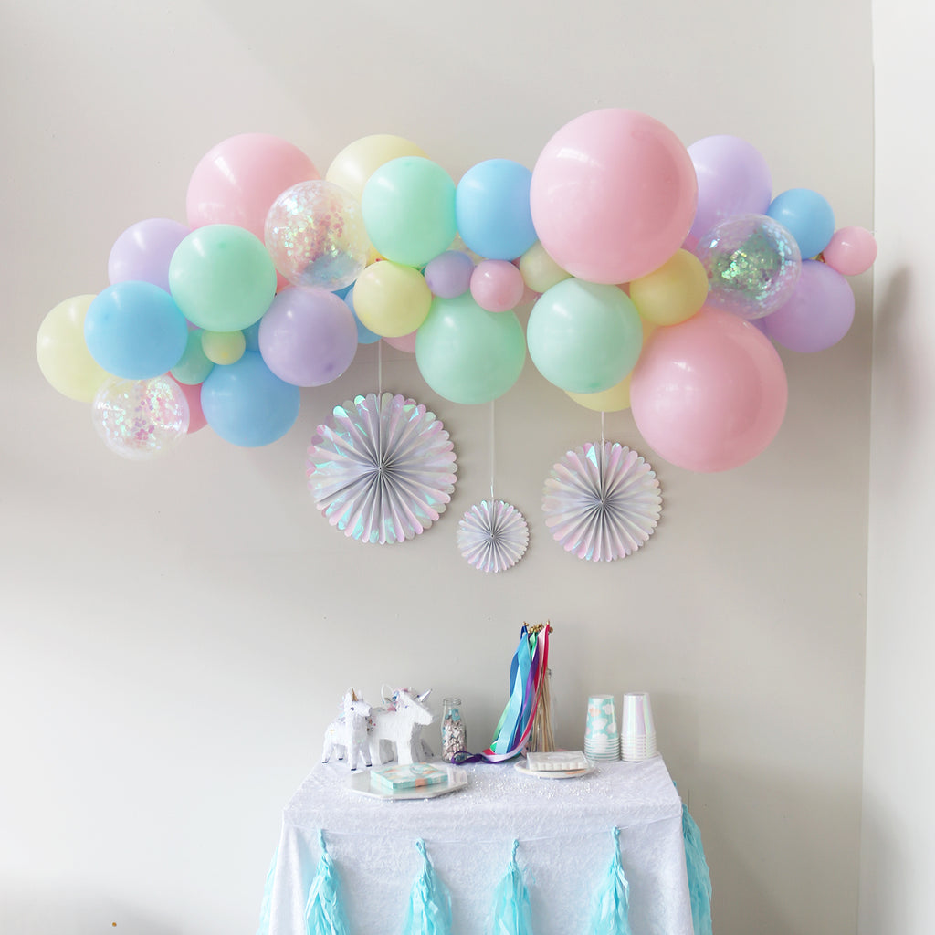 Balloon Garland - Pastel