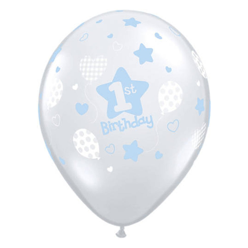 1st Birthday Boy Balloon