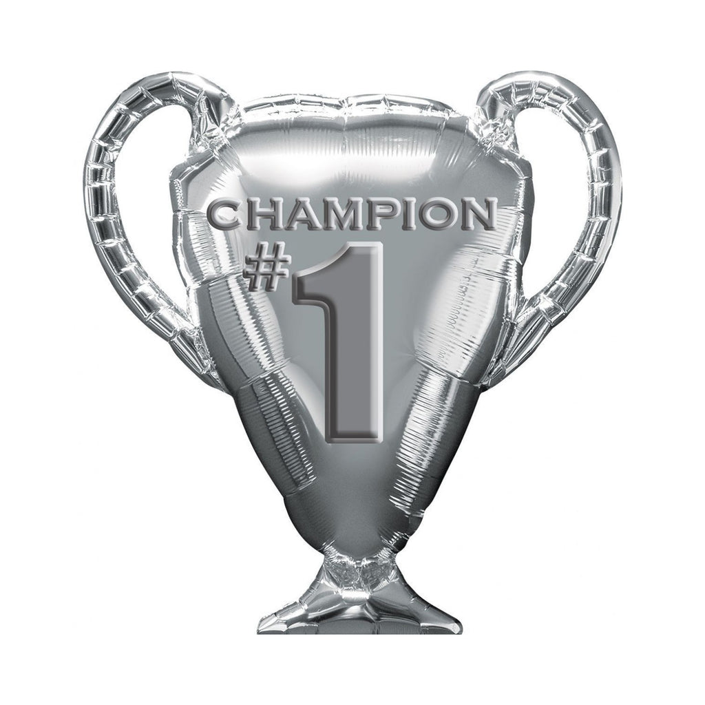 Trophy Champion #1 SuperShape Foil Balloon