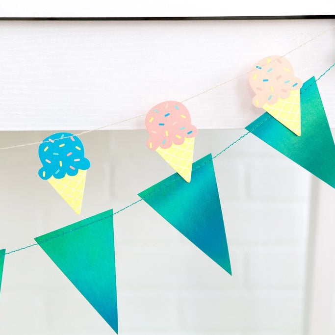 Mini Ice Cream Banner