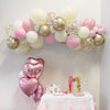 Blushing Peach Balloon Garland